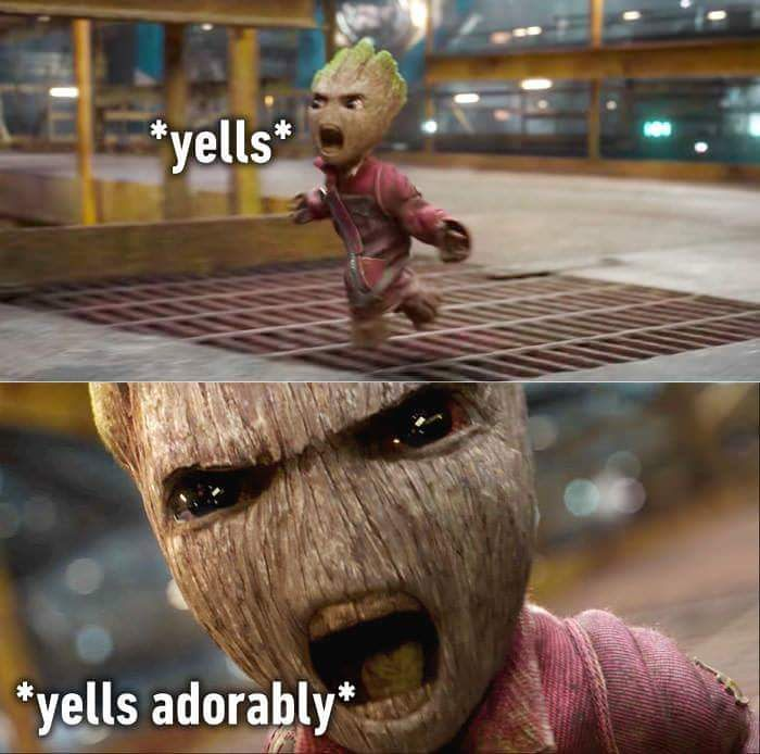 My feelings for this day. #groot