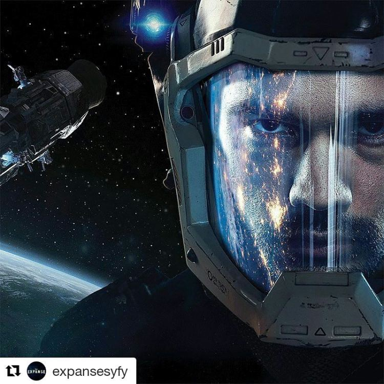Rewatching the Expanse. I had dropped it mid-season last time, but they say season 2 is good. I'll give it a chance. #Repost @expansesyfy ・・・ They found more than they bargained for on Eros. #TheExpanse is back February 1 on @Syfy. #space #scifi #leviathanawakes