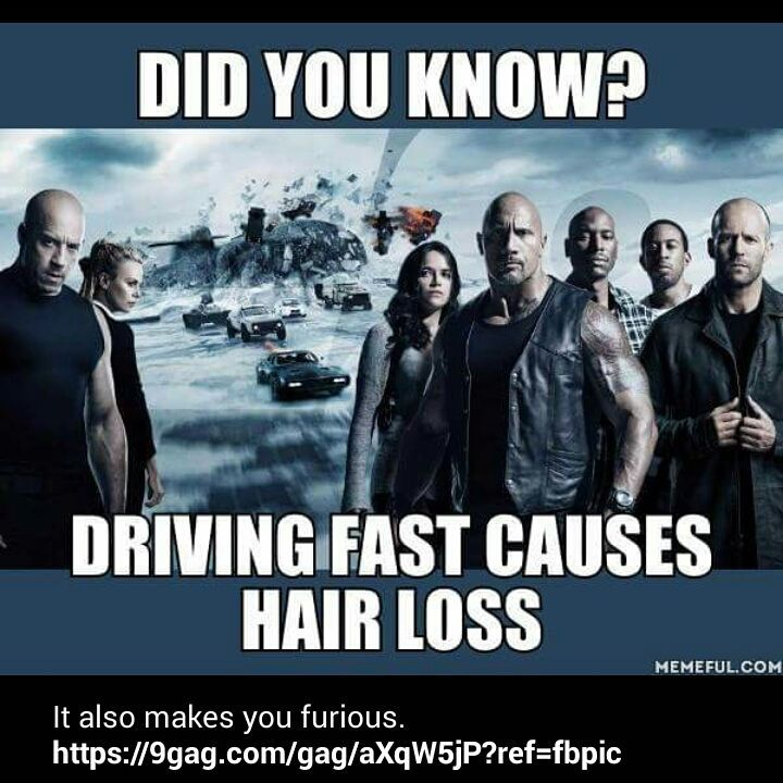 Oh. That explains my head case. Too furious. #ff8 #fastandfurious #bald