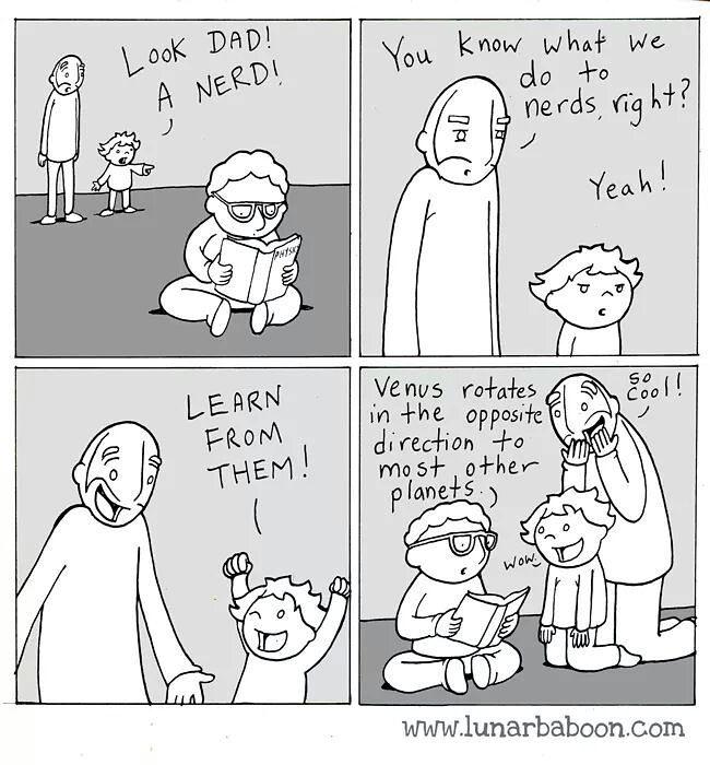 Pfft! I knew that already… #nerds #comic