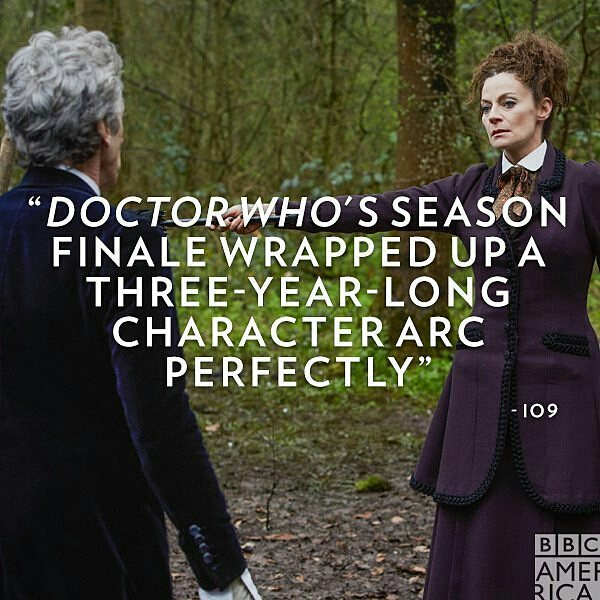 "Yes! The season started strong, then had a couple of silly episodes and finished with a bang. Love it. Can't wait for the Christmas special.  #Repost @doctorwho_bbca ・・・ ""It's taken three years, but he's grown from a man who doesn't care to a man willing to die because he cares so much—and one that, when he's about to regenerate, is so furious at the prospect of becoming someone else and having to potentially re-learn that whole journey again, demands to just die so his growth, his act of kindness, can truly mean something."" – io9/@gizmodo #DoctorWho #billpotts #capaldi #master #missy"