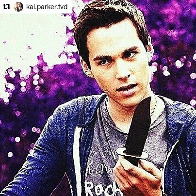 Kai is the best psycho in the series. Like a wacko Ryan Reynolds.  #Repost @kai.parker.tvd ・・・ #kai #kaiparker #kaiisback #malachai #malachaiparker #chriswood #tvd #thevampirediaries I don't own the rights