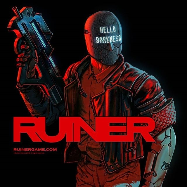 I wanna play Ruiner but I need to work. Also, not sure if my computer can run it.  regram @alien_superfiend Who's been playing Ruiner (@ruinergame ) this weekend? I think it's great, challenging but great. Visceral, violent and visually stunning, it pulls you into a cyberpunk world where you feel the need to survive.  Absolutely recommend!  Thank you @devolverdigital for another great game.  #ruiner #devolverdigital #cyberpunk #games #videogames #gamer #violentgames #ps4 #playstation #scifi #scifigames #shmup #melee