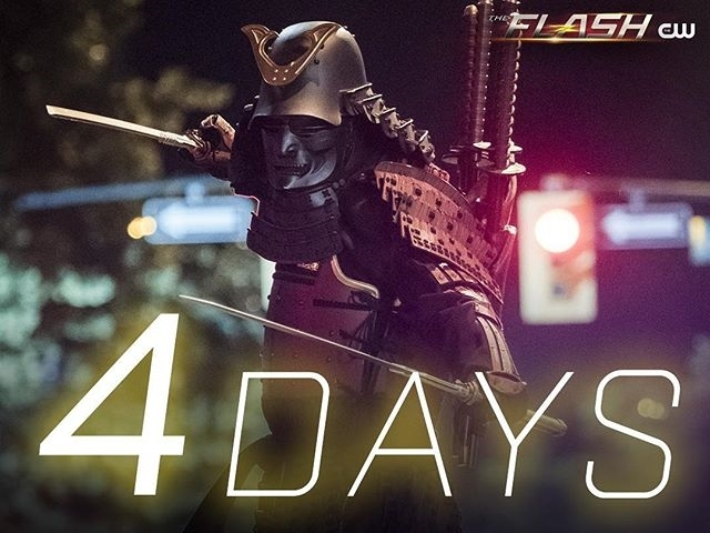 The Samuroid was lame. BOO! regram @cwtheflash His blades cut deep. #TheFlash returns Tuesday at 8/7c on The CW.