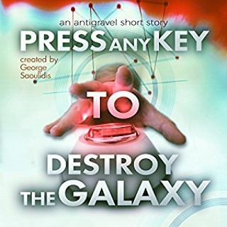 Search for it on Amazon, Press any key to destroy the galaxy. #Amazon #scifi #spaceopera #reading #kindle #shortstory