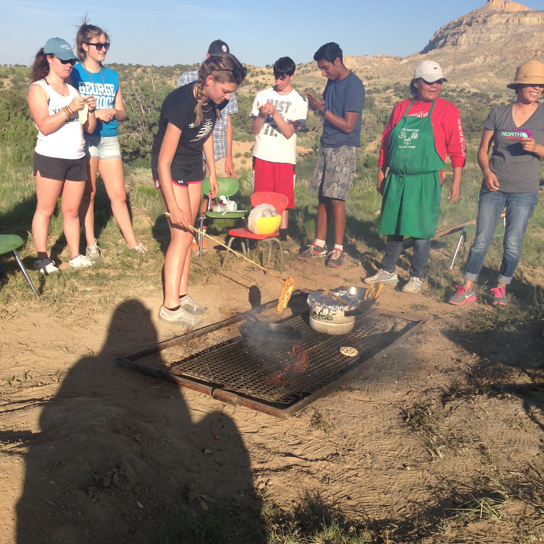June 20 Camping Near Black Mesa in Arizona