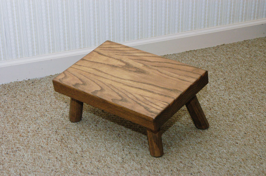 George's Furniture Slanted Stool