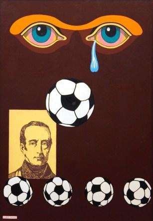1974 Oil on canvas, 100 x 70 cm