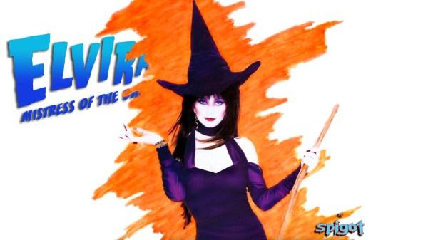 Elvira Halloween Wallpaper #31 George Spigot'