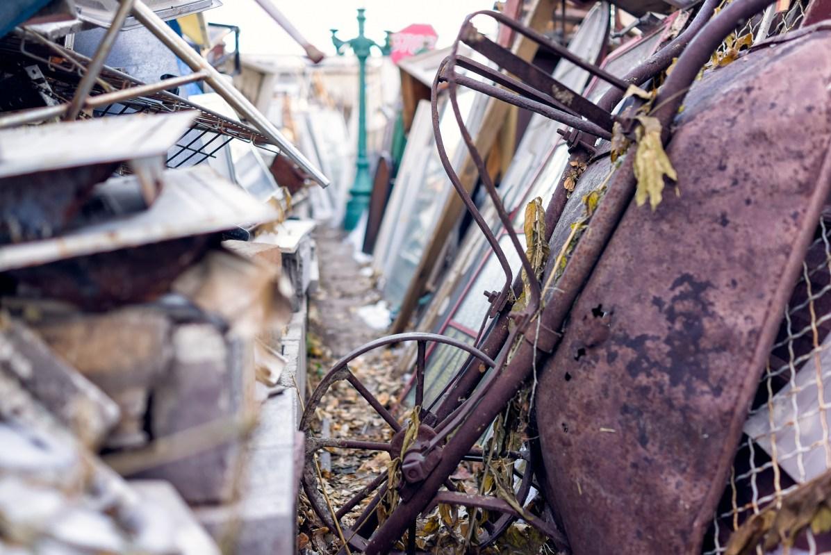 Rusty Wheelbarrow