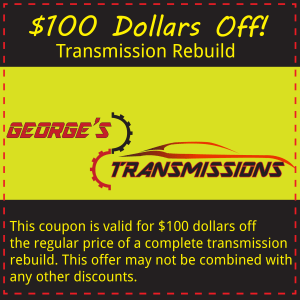 100 dollars off transmission rebuild casa grande arizona