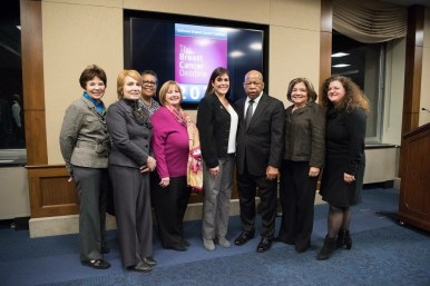 NBCC Board with our own Wanda Lucas honors Rep. John Lewis (D-GA)