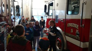 Georgetown Fire Department Hosts Local Boy Scout Troop for Station Tour
