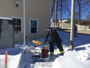 Georgetown Fire Department Reminds Residents to Clear Fire Hydrants of Snow