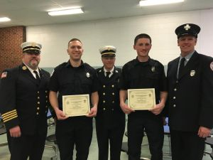 Georgetown Firefighters Graduate from State Firefighting Academy