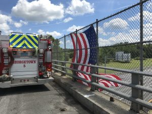 Georgetown Firefighters Honor Fallen Maine Fire Captain