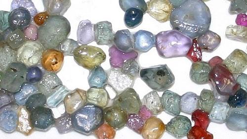 rock hounding sapphire mine