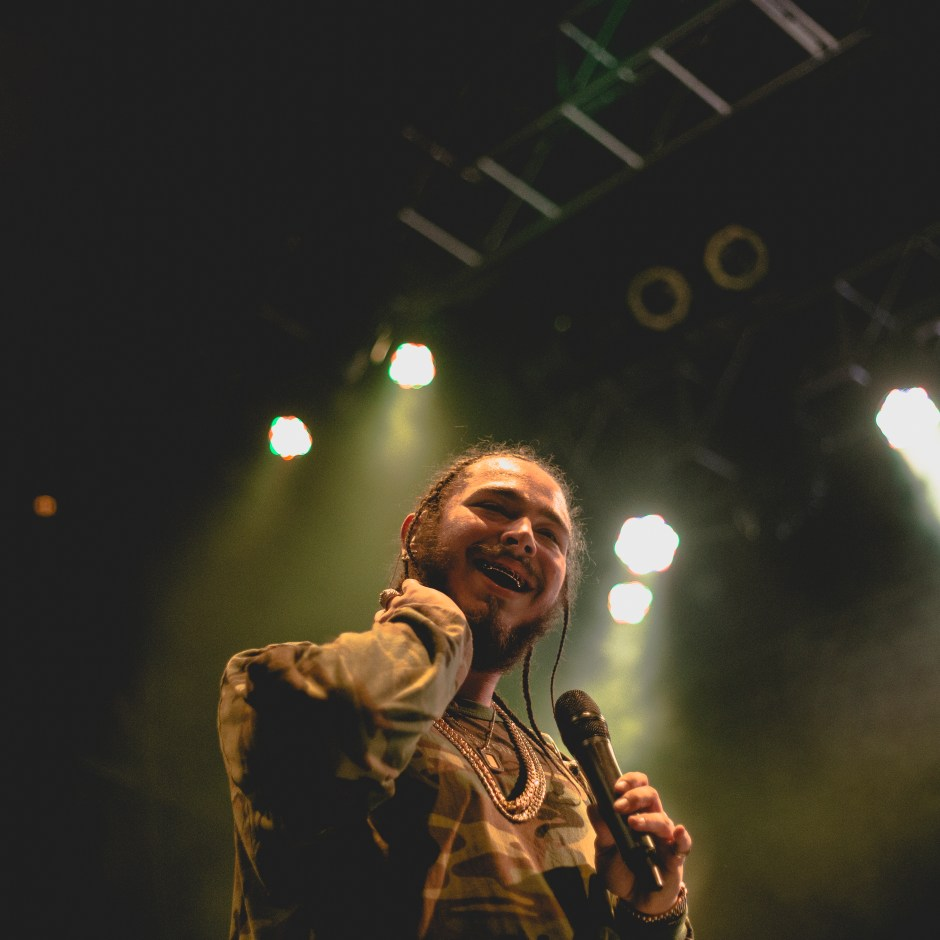 Post Malone at the Fillmore Silver Spring, February 2016 - @troublshooting