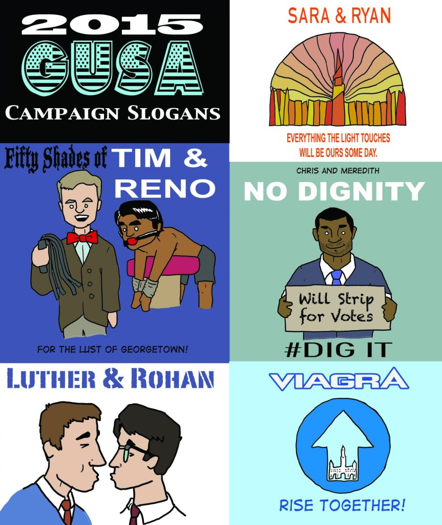 2015 GUSA Campaign Slogans