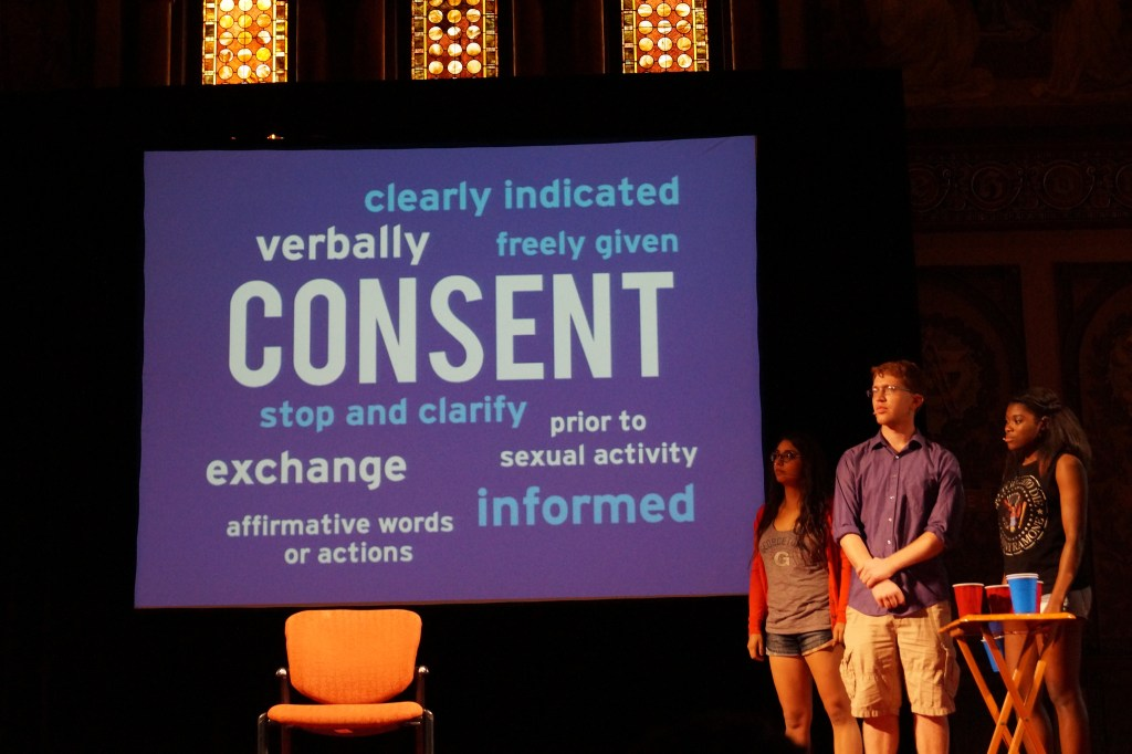 Sex at Georgetown