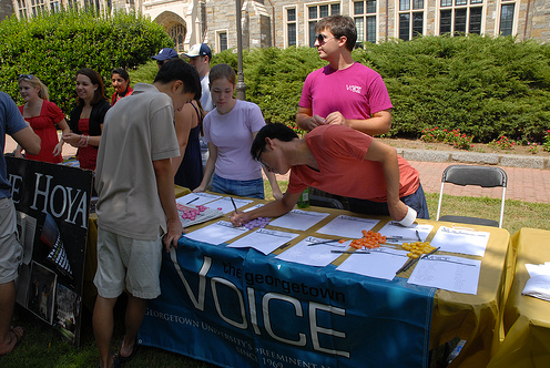 Guide to the Student Activities Fair