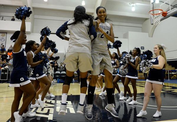 I Cannot Tell a Lie: Women's basketball chops down George Washington in season opener