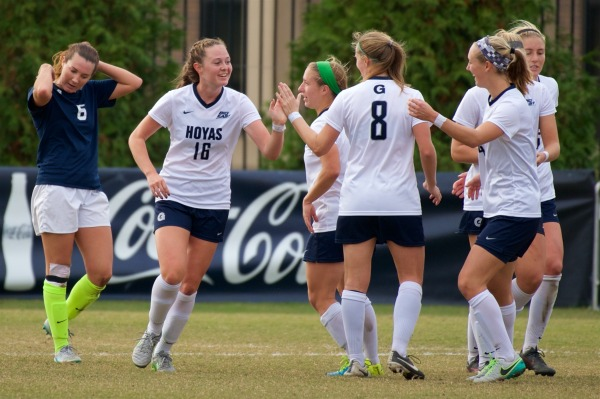 Exorcised: Women's soccer squeaks past Blue Demons and into Big East Championship