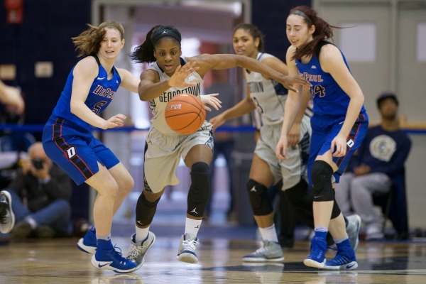 Facing Their Demons: Women's basketball loses in Big East opener
