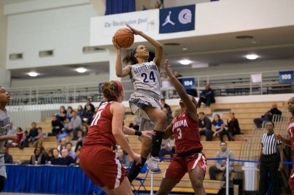 Women's basketball earns fifth consecutive Big East win in an overtime thriller