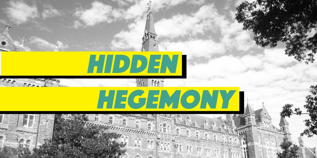 Hidden Hegemony: Progress and Regression, Juxtaposed