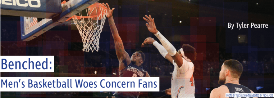 Benched: Men's Basketball Woes Concern Fans