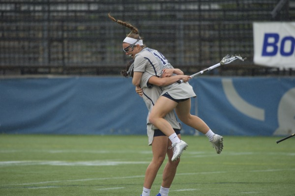 Blazing Ahead: Early outburst helps women's lacrosse hold off No. 13 Denver