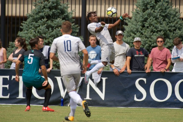 Two Games, Two Shutout Wins for Men's Soccer