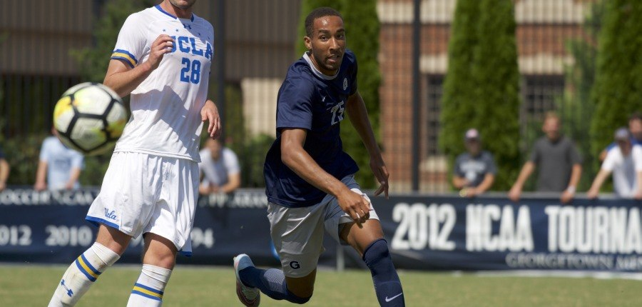 Dodson's Heroics Propel No. 16 Men's Soccer to Big East Victory