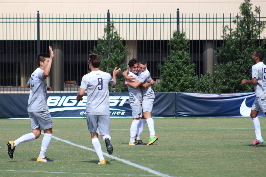 Men's Soccer Downs Marquette to Remain Undefeated at Home