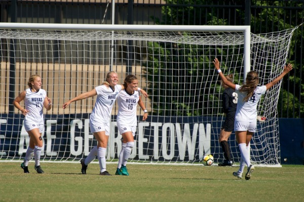 No. 12 women's soccer hosts last place Creighton