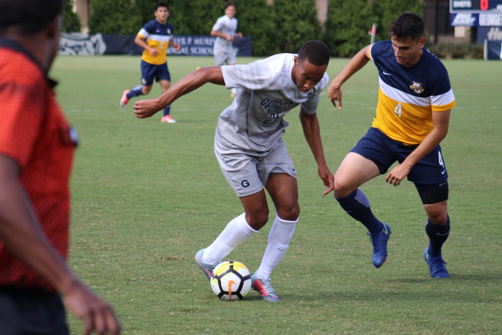 No. 10 Men's Soccer Hosts Providence with Chance to Clinch Conference Tournament Spot