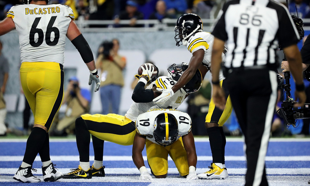The Best Steelers Touchdown Celebrations