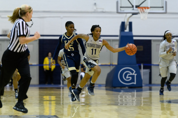 Women's basketball opens conference play at Providence