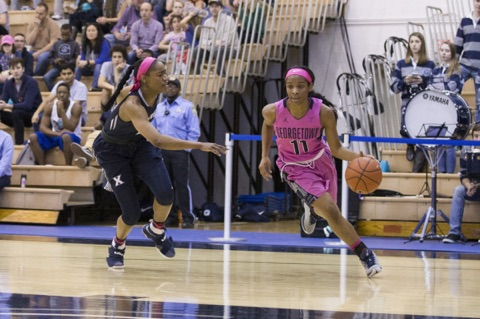 Women's basketball returns to McDonough for Big East play