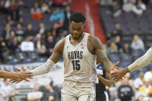 Off the Marcus: Hoyas fall to Villanova in Derrickson's absence