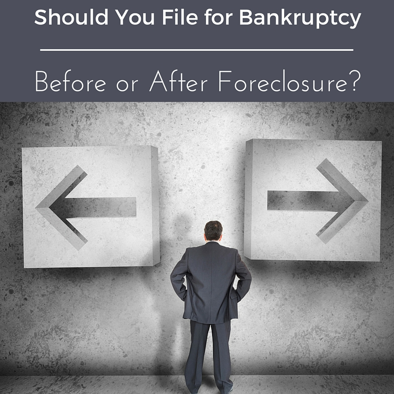 Should You File For Bankruptcy Before Or After Foreclosure