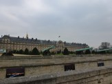 Les Invalides, Napoleon's Tomb. Immense and its cannons make a statement of military might.