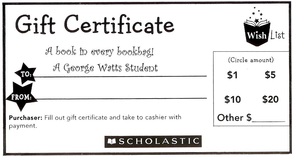 Book Fair December 3 10 2012 Archive Of The George Watts Montessori Magnet PTA