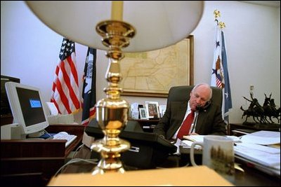 Richard B Cheney Inside the Vice Presidents Office