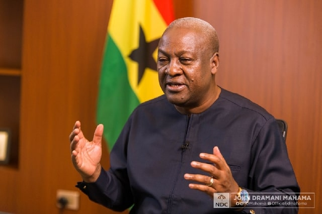 Mahama's NDC promises free tertiary education in second coming