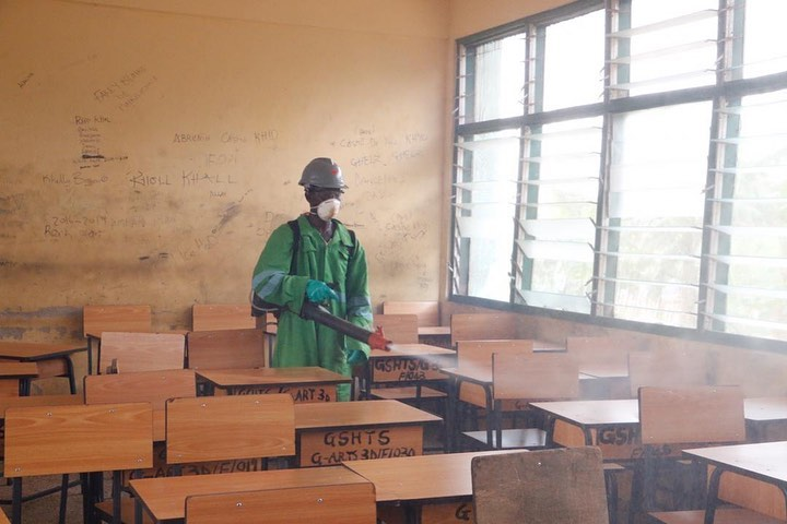 Disinfection of basic schools begins in Greater Accra