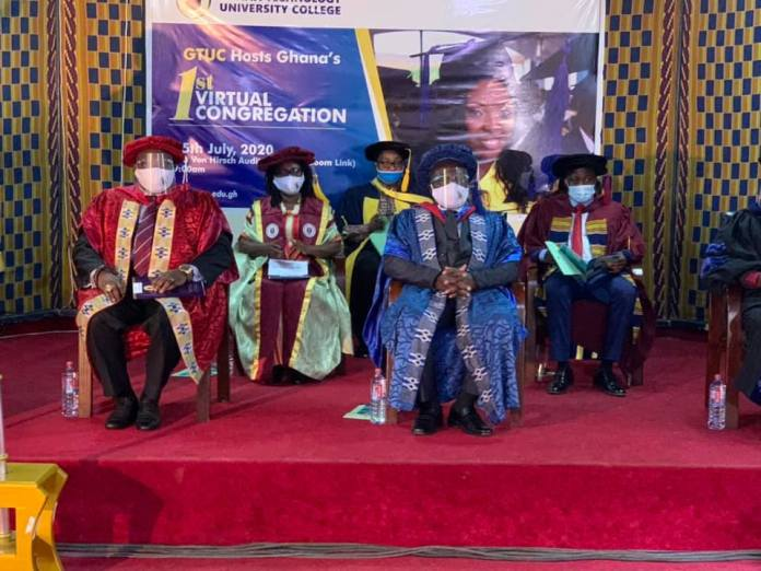 GTUC successfully holds first virtual graduation