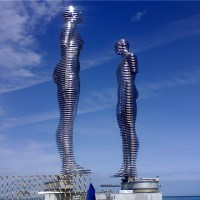 "About Art - ""Statue of Love"" in Batumi"