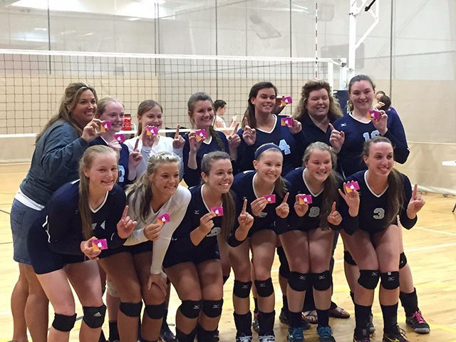 Georgia Adrenaline Volleyball Club, Team 18-Lisa in the 2015 Southeast Regional Volleyball Season